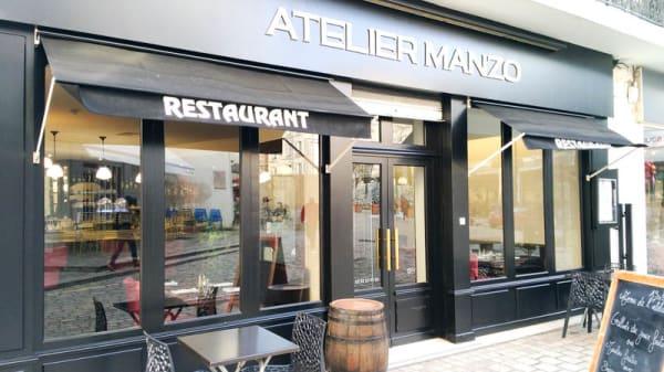 Entrée - L'Atelier Manzo, Orléans