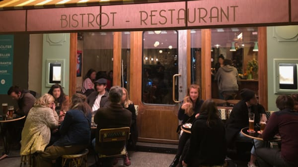 Devanture - Café Cosmos, Paris