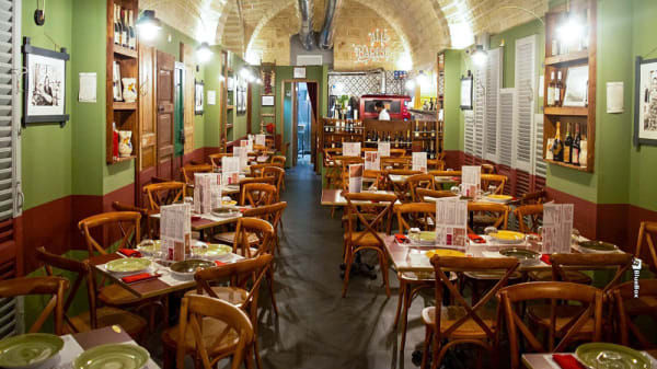 Veduta dell interno - Alla barese, Bari