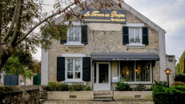 Le restaurant - La Terrasse des Donjons, Soisy-sur-Seine