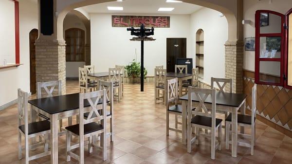El Tiroles es un restaurante acogedor, con todas las medidas de seguridad, te haremos sentir como en casa.  - El Tiroles, Bollullos De La Mitacion