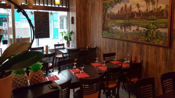 Salle du restaurant - Le Mékong, Paris