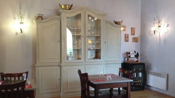 Vue de la salle - Le Prieure de Clisson, Josselin
