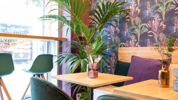 Vue de la salle - Azai Cafe, Nantes