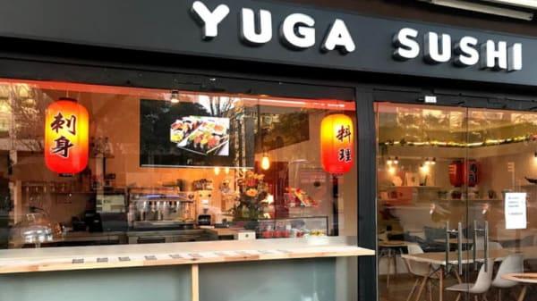 Fachada - Yuga Sushi, Barcelona