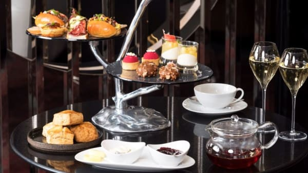 The Gallery's 'High Tea' stand - The Gallery At Sheraton Grand Sydney Hyde Park, Sydney (NSW)