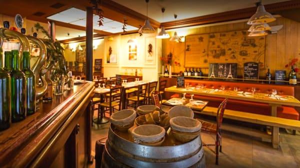 Salle du restaurant - Chez Papa Bastille, Paris