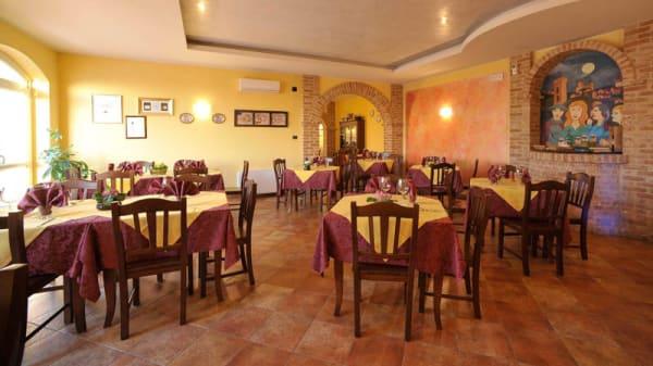 Vista sala - Albergo Ristorante Il Borgovecchio, Montegrosso
