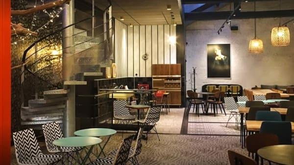 Salle du restaurant - Les Francs Burgers - Arras, Arras