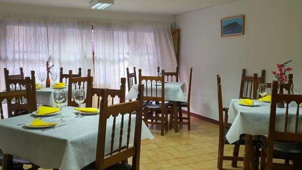 Sala del restaurante - Bar Rasi, Zamora