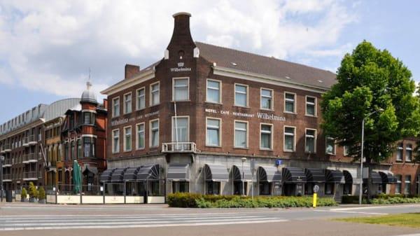 Ingang - Hotel-Restaurant Wilhelmina, Venlo