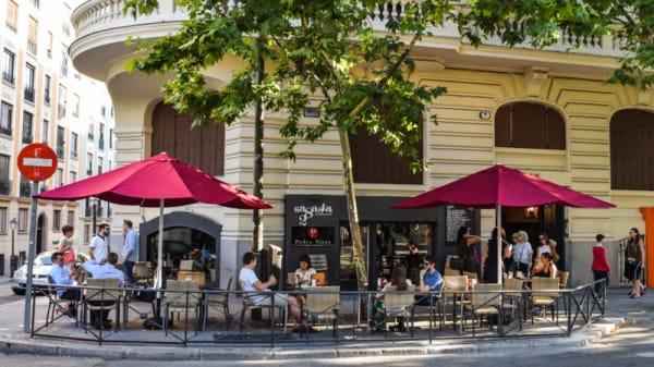 Terraza - Sagasta 28 Bistró&Gourmet, Madrid