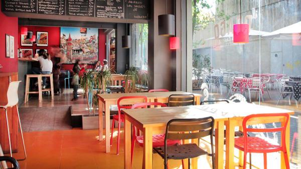 vista interior - Il Drago, Barcelona