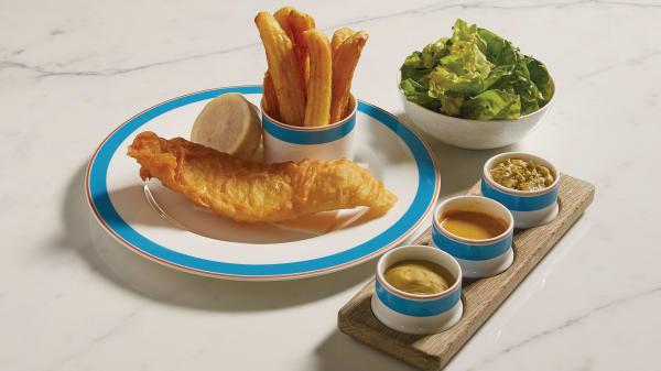 Kerridge's Fish & Chips at Harrods, London