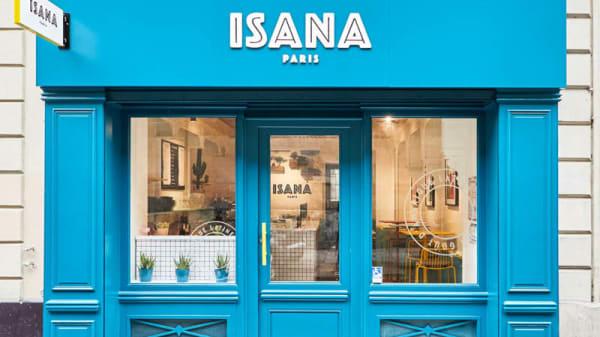 Devanture - ISANA, Paris