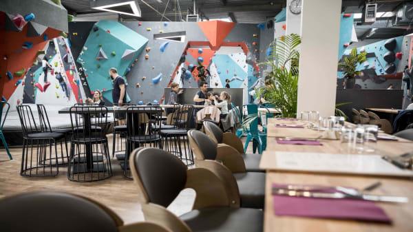 Vertical'Art Saint Quentin en Yvelines - Salle d'escalade - Restaurant et Bar - Stages et cours d'escalade - Accessible à tous - Vertical'Art - Saint Quentin en Yvelines, Montigny-le-Bretonneux