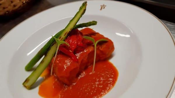 Bacalao chilindrón - Restaurante Parador de Bielsa, Bielsa, Huesca