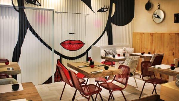 vista interior - Japi Sushi Bar, Barcelona