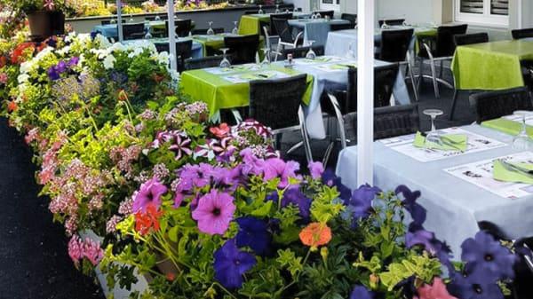 Terrasse - Restaurant de la Gare Baccarat, Baccarat