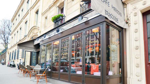 devanture - Café Marion, Paris