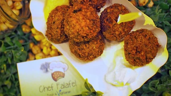 Suggestion du chef - Chef Falafel, La Chaux-de-Fonds