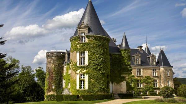 Façade - Château de La Côte, Biras