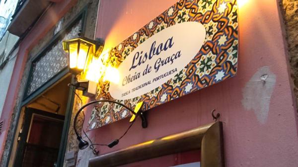 Entrada - Lisboa Cheia de Graça - Atalaia, Lisbon