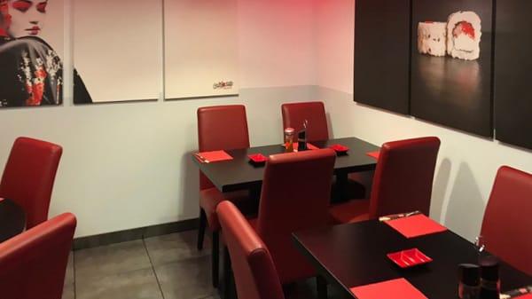 Salle du restaurant - California Sushi, Argenteuil