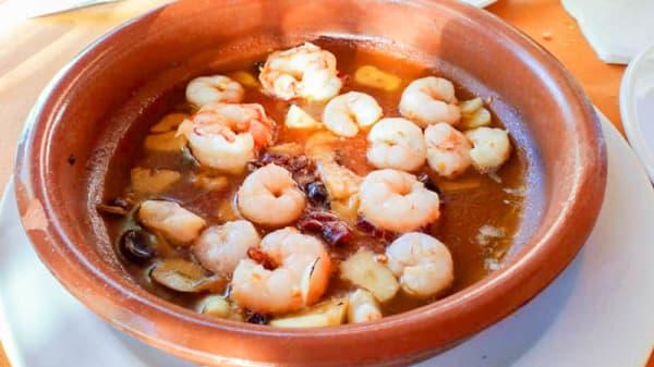 Sugerencia de plato - Arroz y ascua, Barratera