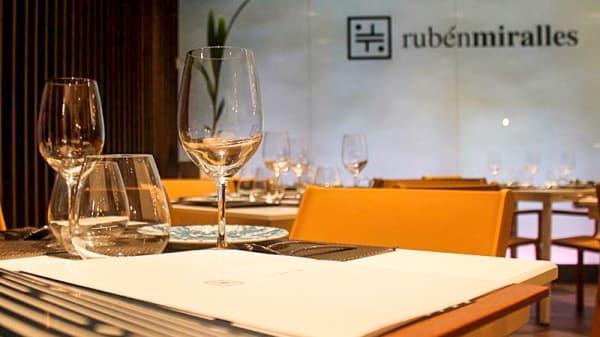 Sala del restaurante - Rubén Miralles, Vinaroz