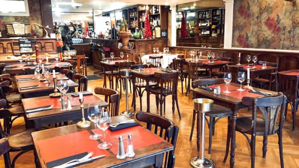 Salle du restaurant - Eau de Folles, Toulouse