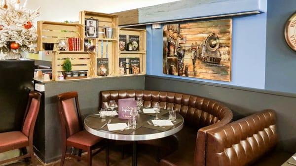 Salle du restaurant - Le Crysam, Nogent-sur-Marne