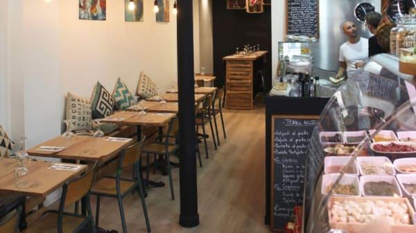 salle - Terre Rosse Pizzeria, Paris