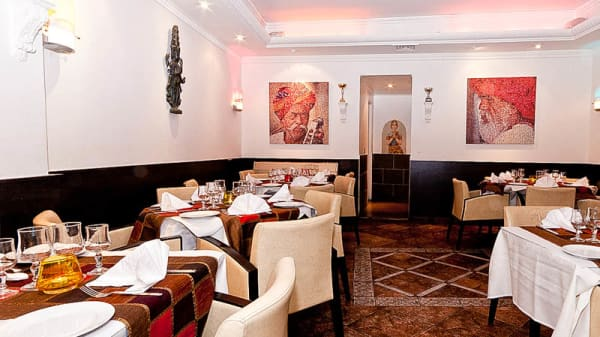 salle rez-de-chaussée - Noori's Indian, Nice