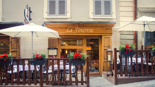Terrasse - La Finestra, Genève