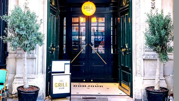 Devanture - The Grill Room, Paris