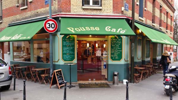 Devanture - Le Pousse Café, Boulogne-Billancourt