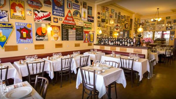 Salle du restaurant - Le Bistrot des Halles, Le Havre