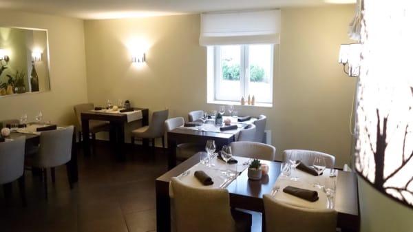 Salle du restaurant - Le clos des sens, Schlierbach