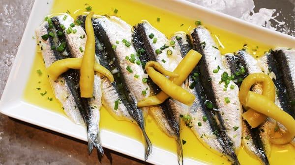 Sugerencia del chef - Golfo de Bizkaia Pi, Barcelona