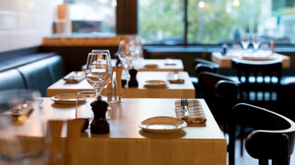 Tables dressées - Beef, Genève