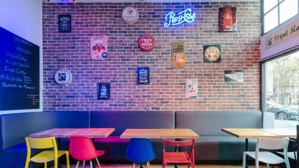 Vue de la salle - Pixies Bar & Burgers, Lille