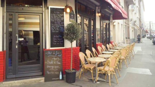 devanture - Le Garance, Paris