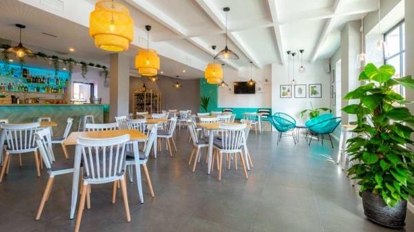 Vista del interior - Carmela Gourmet Bar, San Javier