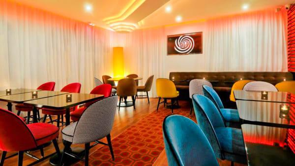 Salle du restaurant - Le Onzième, Paris