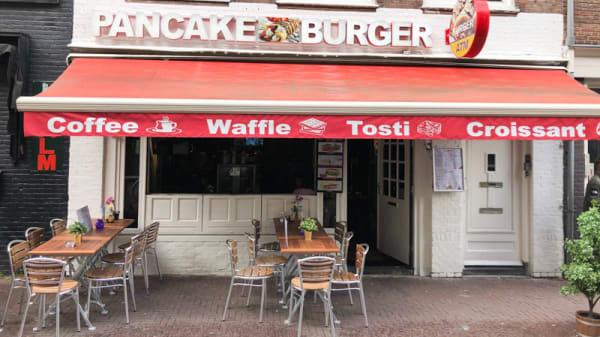 Ingang - Pancake & Burger, Amsterdam