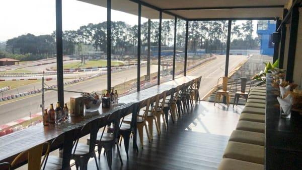 Vista da sala - Restaurante Capito, Cotia
