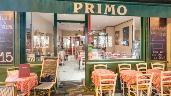 Devanture - Primo, Paris