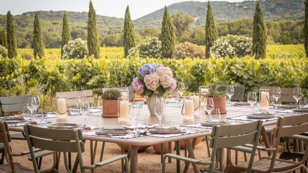 Fondugues Pradugues - La Table du Chef, Ramatuelle