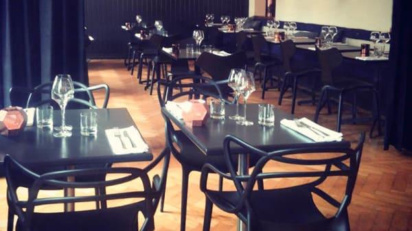 restaurangens vy - Grytor och Glas, Ängelholm